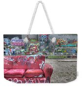 Grafitti Couch Weekender Tote Bag