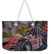 Graham Hill Mr Monaco Weekender Tote Bag