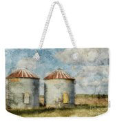 Grain Silos - Digital Paint Weekender Tote Bag