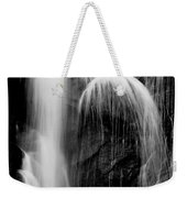 Grampians Waterfall Bw Weekender Tote Bag