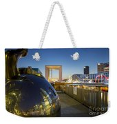 Grand Arch And La Defense Weekender Tote Bag