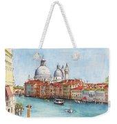 Grand Canal And Santa Maria Della Salute Venice Weekender Tote Bag