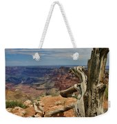 Grand Canyon And Dead Tree 1 Weekender Tote Bag