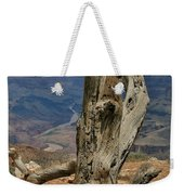 Grand Canyon And Dead Tree 2  Weekender Tote Bag
