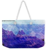 Grand Canyon As A Painting 2 Weekender Tote Bag