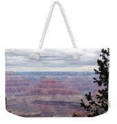 Grand Canyon Awaiting Snowstorm Weekender Tote Bag