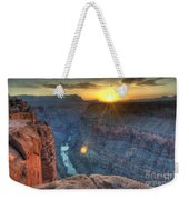 Grand Canyon First Light Weekender Tote Bag