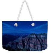 Grand Canyon In Moonlight Weekender Tote Bag