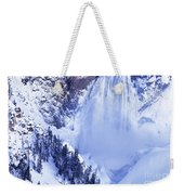 Grand Canyon Of The Yellowstone Yellowstone National Park Wyoming Weekender Tote Bag
