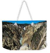 Grand Canyon Of Yellowstone Weekender Tote Bag
