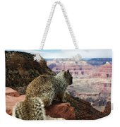 Grand Canyon Squirrel Weekender Tote Bag