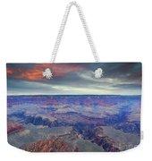 Grand Canyon Storm Set Weekender Tote Bag