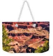 Grand Canyon Valley Weekender Tote Bag
