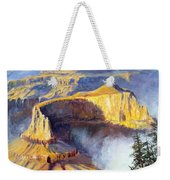 Grand Canyon View Weekender Tote Bag by Lee Piper