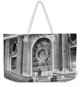 Grand Central Christmas Weekender Tote Bag