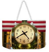 Grand Central Clock Weekender Tote Bag