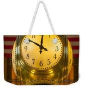 Grand Central Clock Weekender Tote Bag