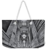 Grand Central Corridor Bw Weekender Tote Bag