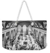 Grand Central Terminal Birds Eye View I Bw Weekender Tote Bag