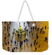 Grand Central Terminal Clock Birds Eye View  Weekender Tote Bag