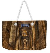 Grand Central Terminal Station Chandeliers Weekender Tote Bag