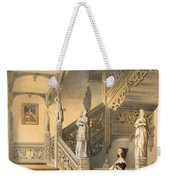 Grand Elizabethan Staircase Weekender Tote Bag