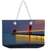 Grand Haven South Pier Lighthouse Weekender Tote Bag