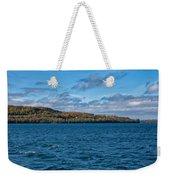Grand Island Lake Superior Weekender Tote Bag