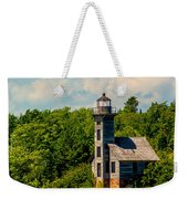 Grand Island Lighthouse Weekender Tote Bag
