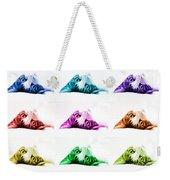 Grand Kitty Cuteness Pop Art 9 Weekender Tote Bag