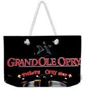 Grand Ole Opry Entrance Weekender Tote Bag