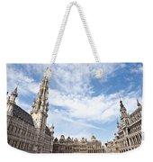 Grand Place In Brussels Belgium Weekender Tote Bag