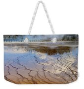 Grand Prismatic Runoff - Yellowstone Weekender Tote Bag