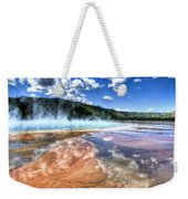 Grand Prismatic Spring - Yellowstone Weekender Tote Bag