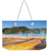 Grand Prismatic Spring - Yellowstone National Park Weekender Tote Bag