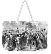 Grand Prix De Paris, 1870 Weekender Tote Bag