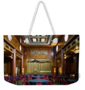 Grand Salon 02 Queen Mary Ocean Liner Weekender Tote Bag