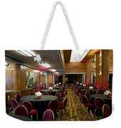Grand Salon 04 Queen Mary Ocean Liner Weekender Tote Bag