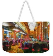 Grand Salon 05 Queen Mary Ocean Liner Photo Art 02 Weekender Tote Bag