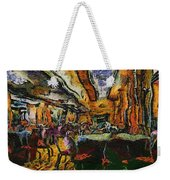 Grand Salon 05 Queen Mary Ocean Liner Photo Art 04 Weekender Tote Bag