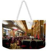 Grand Salon 05 Queen Mary Ocean Liner Weekender Tote Bag