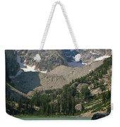 1m9387-v-grand Teton And Delta Lake - V Weekender Tote Bag