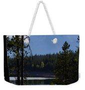 Grand Teton Framed By Cedars Weekender Tote Bag
