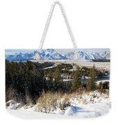 Grand Teton Landscape Weekender Tote Bag