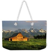 Grand Teton National Park , Wyhomestead Weekender Tote Bag