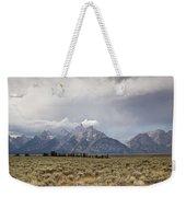 Grand Thunder - Grand Teton National Park - Wyoming Weekender Tote Bag