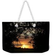 Grand Valley Sunset Weekender Tote Bag