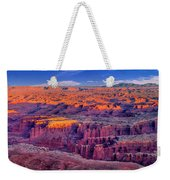 Grand View Point Evening Panorama Weekender Tote Bag