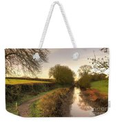 Grand Western Canal At Halberton  Weekender Tote Bag