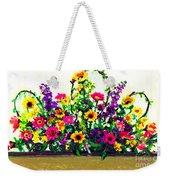 Grandchildren's Bouquet Weekender Tote Bag